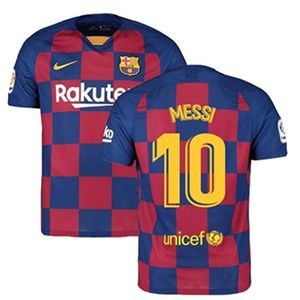 Lionel Messi #10 FC Barcelona  Home Jersey 2019